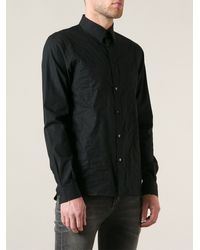 Diesel Front Band Panel Shirt - Lyst