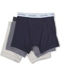 Calvin Klein Cotton Stretch Boxer Brief 3-pack - Lyst