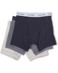 Calvin Klein Cotton Stretch Boxer Brief 3-pack - Lyst