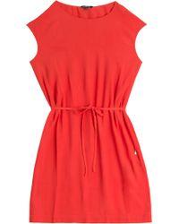 Woolrich Crepe Dress - Lyst