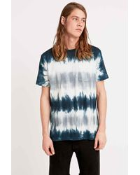 RVCA - Julian X Kelsey Tee In Blue And Yellow - Lyst