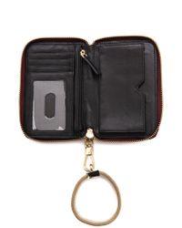 Elizabeth and James - Pyramid Haircalf Smartphone Wallet - Cognac - Lyst