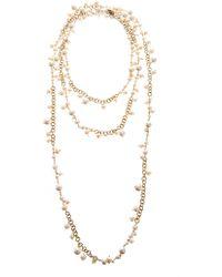 Rosantica - Chimera Riverpearl Necklace - Lyst