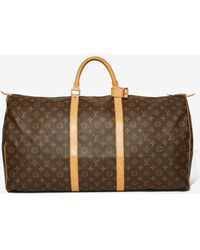 Louis Vuitton | Vintage Monogram Bandouliã¨re Keepall Bag | Lyst