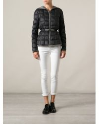 Fay Belted Padded Jacket - Lyst