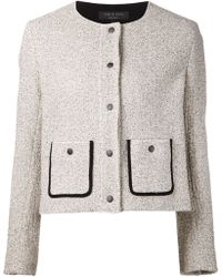 Rag & Bone Boucle Knit Jacket - Lyst