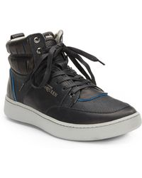 Puma x Alexander McQueen Summer Joust Leather Hightop Sneakers - Lyst