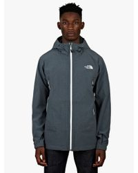 The North Face Mens Teal Burst Rock Jacket - Lyst