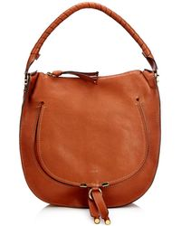 Chloé Marcie Medium Leather Shoulder Bag - Lyst