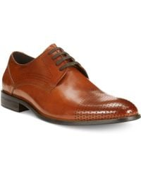 Kenneth Cole Reaction Tear It Up Oxfords - Lyst