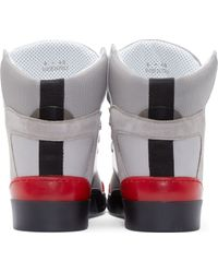 Marc Jacobs Grey High_Top Sneakers - Lyst