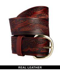 Asos Leather Tooled Waist Belt - Lyst