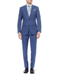 Thom Sweeney Blue Weighouse Wool Suit - Lyst