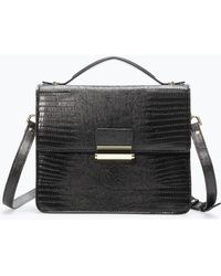 Zara Tegus Closure Messenger Bag - Lyst