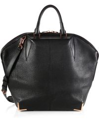 Alexander Wang Emile Large Leather Tote - Lyst