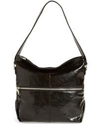 Hobo 'Maren' Leather Shoulder Bag black - Lyst