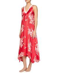 Oscar de la Renta - Spanish Lilly Floral-Print Long Gown - Lyst