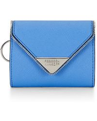 Rebecca Minkoff Molly Metro Wallet blue - Lyst