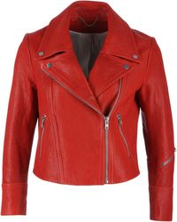 Yigal Azrouël | Moto Leather Jacket | Lyst