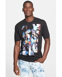 DSquared² Foil Abstract Print Crewneck T-Shirt - Lyst