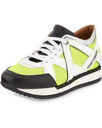 Jimmy Choo London Lace-up Sneaker - Lyst