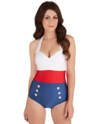 Fables By Barrie Merry Mariner One-Piece Swimsuit - Lyst