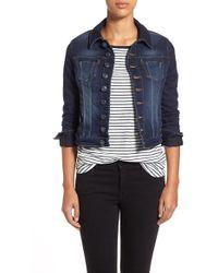 Jag Jeans - 'savannah' Knit Denim Jacket - Lyst