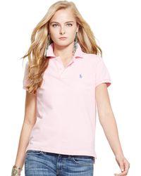 Polo Ralph Lauren Short-Sleeve Polo Shirt - Lyst