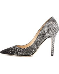 Jimmy Choo Tania Crystal Degrade Pump - Lyst
