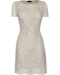 James Lakeland Beige Lace Dress - Lyst