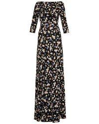 Erdem Valentina Floral-print Gown - Lyst