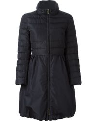 Valentino Quilted Silk-Blend Coat - Lyst
