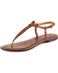 Sam Edelman Gigi Leather Thong Sandal Cusp Most Loved  - Lyst