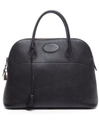 Hermès Pre-Owned Black Togo Bolide 35Cm Bag - Lyst