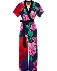 Clover Canyon Lotus Garden Jumpsuit - Lyst