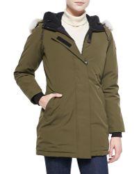Canada Goose Victoria Furhood Parka Jacket - Lyst