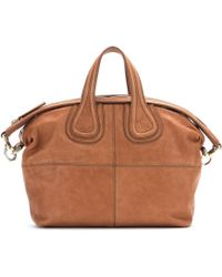 Givenchy Nightingale Small Leather Tote - Lyst