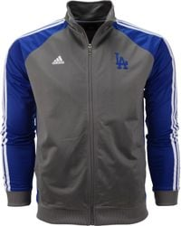 Adidas Boys Los Angeles Dodgers Bullpen Jacket - Lyst