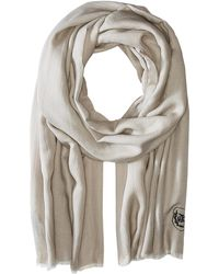 The Kooples - Cotton Crest Scarf - Lyst