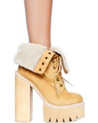 Jeffrey Campbell Incharge Boot - Lyst
