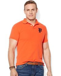 Ralph Lauren Polo Big and Tall Short Sleeve Solid Stadium Package Polo - Lyst