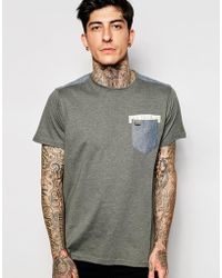 Firetrap - Denim Logo Back T-shirt - Lyst