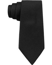 Calvin Klein Micro Quilt Solid Skinny Tie - Lyst