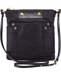 Marc By Marc Jacobs Preppy Nylon Sia Crossbody Bag Black - Lyst
