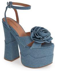 Jeffrey Campbell 'Rosanna' Platform Sandal - Lyst