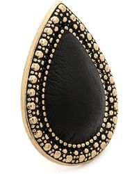 Samantha Wills - Bohemian Bardot Ring - Antique Gold/black - Lyst