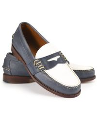 Ralph Lauren Leather Edric Ii Loafer - Lyst