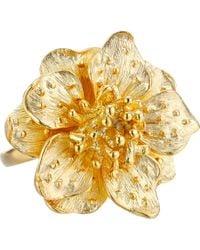 Kenneth Jay Lane Flower Ring - Lyst