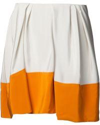 3.1 Phillip Lim Colour Block Umbrella Skirt - Lyst