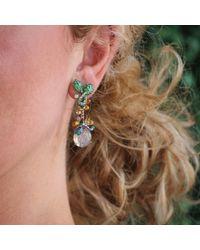 Arunashi - Fire Opal Drop Earrings - Lyst